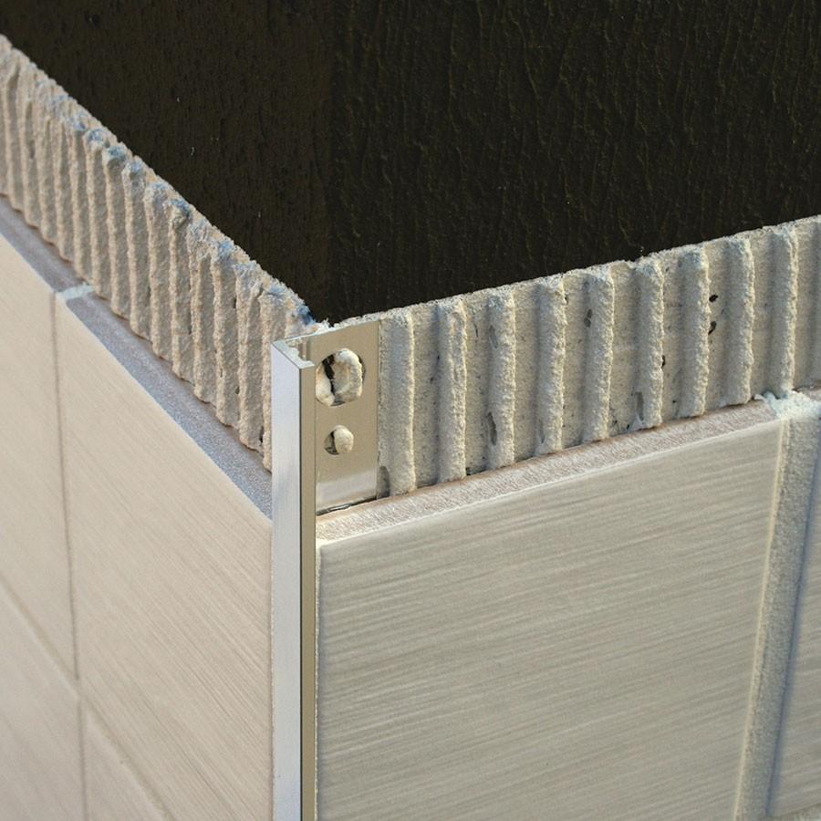 profilo angolare L cm 200 h cromato 30x15x1 mm profili alluminio asta