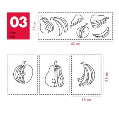 Stendecor serie Frutta