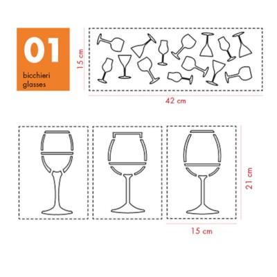 Stendecor serie Bicchieri